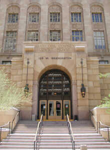 "The ""old"" Maricopa County Superior Court building."