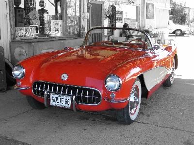 Hackberry - Route 66 tv show car
